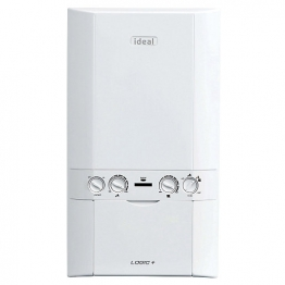 Ideal Logic Plus 30kw Combi Boiler & Vertical Flue Pack Erp