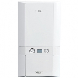 Ideal Logic Plus 24kw Heat Only Boiler & Standard Horizontal Flue Pack Erp