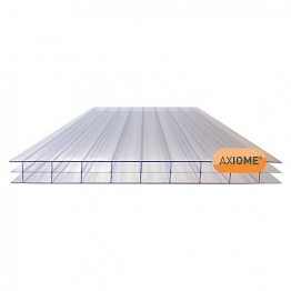 Axiome Clear 16mm Polycarbonate Sheet 690mm X 2500mm