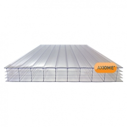 Axiome Clear 25mm Polycarbonate Sheet 1050mm X 4000mm