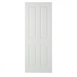 Moulded 4 Panel Smooth Hollow Core Internal Door 1981mm X 762mm X 35mm