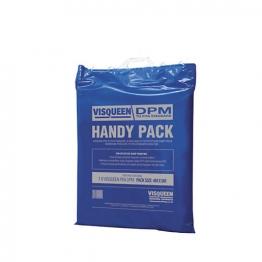 Visqueen Handypack Damp Proof Membrane Pifa Blue 4 X 5m 250mu