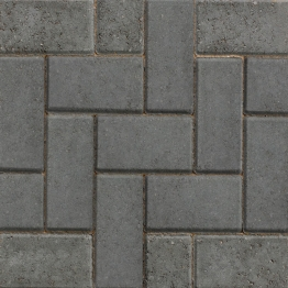 50 X Marshalls Standard Concrete Block Paving Charcoal 200mm X 100mm X 50mm