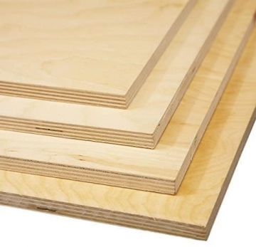 18mm Birch Plywood For Furniture Cabinets Wardrobe Cupboard And Contruction